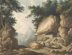Hermitage at Kurrungalle in Ceylon